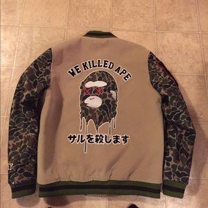 We Killed Ape Varsity Jacket